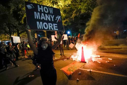 Protests, confrontations continue near White House