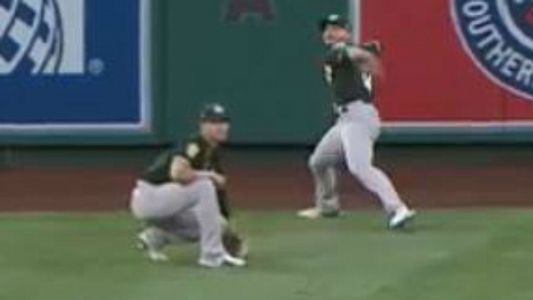 Ramon Laureano vs. Yoenis Cespedes: Which A's OF had the better throw vs. the Angels?