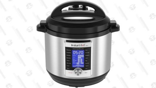 Put Dinner Prep On Fast Forward With a $60 Discount On the Instant Pot Ultra
