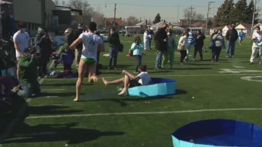 Special Olympics Chicago wraps up week of Polar Plunges in unique fashion