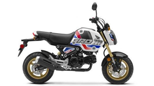 Honda Updates Grom With Visually Aggressive SP Edition