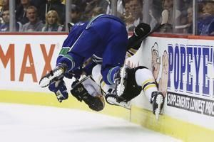 Horvat scores in overtime, Canucks top Bruins 2-1