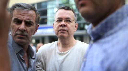 'Thankful To Be Safely Home': Pastor Brunson, Freed From Detention, Arrives In U.S