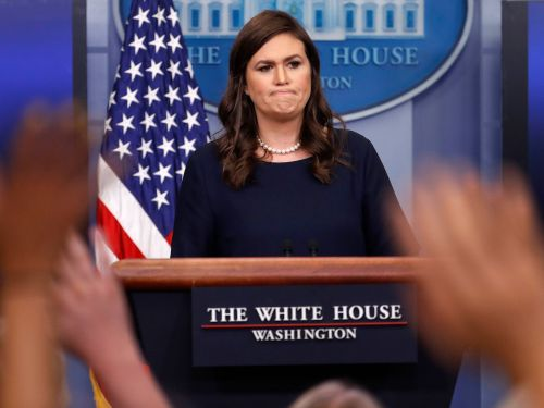 Sarah Huckabee Sanders may have violated the law by tweeting about getting kicked out of a restaurant