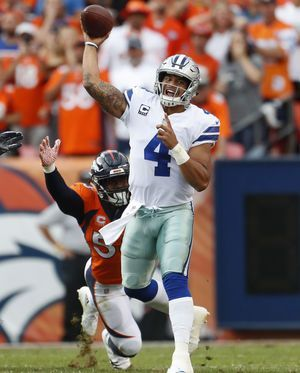 Broncos' 42-17 crushing of Cowboys shows they're back