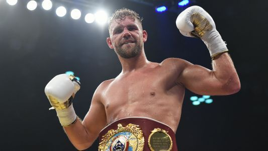 'I feel like chicken tonight' - Billy Joe Saunders game for a laugh after Deontay Wilder fowl play