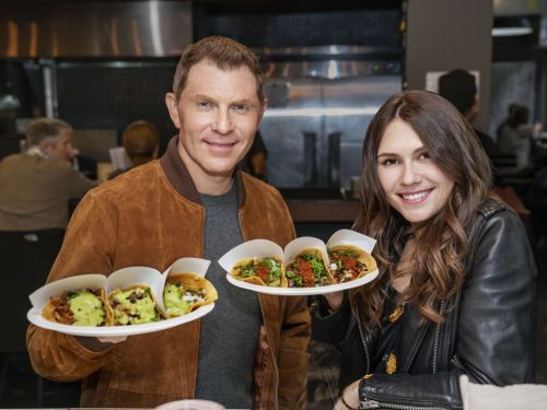 Bobby Flay Is the Latest Chef to Bring His Kid on Camera as a Sidekick