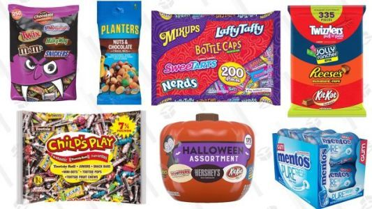 Amazon's Running Some Scary-Good Halloween Candy Deals Today - Just Don't Eat It All Yourself