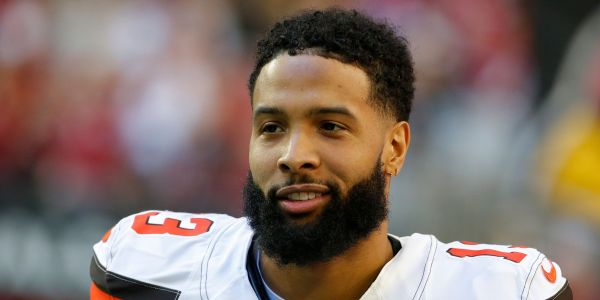 An arrest warrant has been issued for Odell Beckham Jr. on a battery charge after a viral video showed him smacking a cop's behind