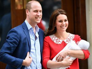 Was There A Touching Reason Behind Kate Middleton's Red Dress Outside The Lindo Wing?