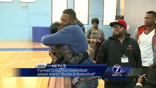 Former Creighton basketball player starts 'Books and Basketball'