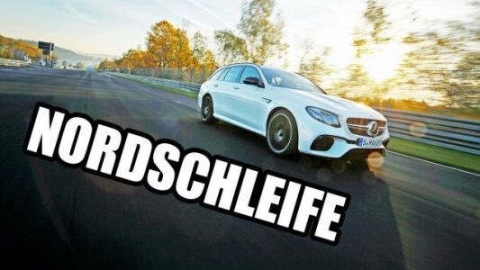 Watch The Mercedes AMG E63 S Set A Nurburgring Lap Record For The Fastest Wagon