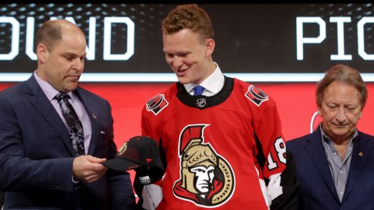 Senators rookie Brady Tkachuk scores first NHL goals