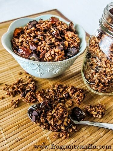 German Chocolate Granola