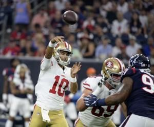 Watson, Garoppolo sharp as Texans top 49ers 16-13