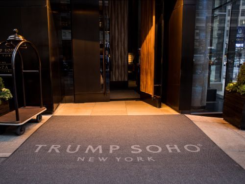 The Trumps are cutting ties with the five-star Trump SoHo hotel after business plummeted post-election