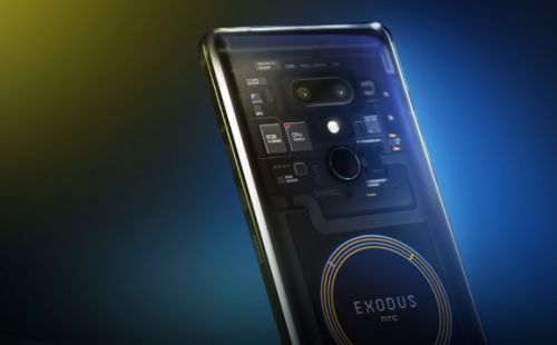 HTC partners with Bitcoin.com to support cryptocurrency smartphone Exodus 1