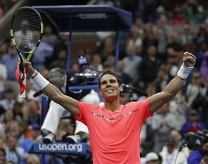 The Latest: Nadal says no in-match coaching little 'stupid'