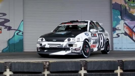 Ken Block Is Coming Back To Rallying In America In His 1993 Ford Escort Cosworth