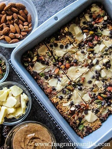 Vegan 8 Layer Bars