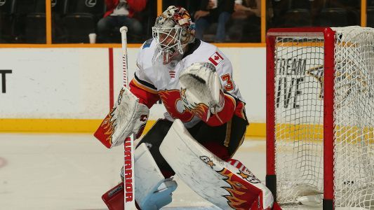 Devils acquire goaltender Lack from Flames in exchange for Prout