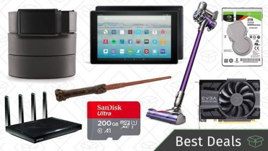 Thursday's Best Deals: Amazon Tech Sale, Ratchet Belts, Remote Control Wand, and More