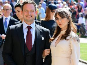 Suits Star Patrick J. Adams Has Apologised For The Royal Wedding Body-Shaming Incident