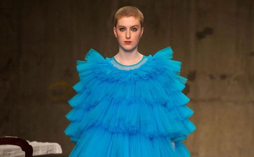 On the London catwalks, artistry comes first
