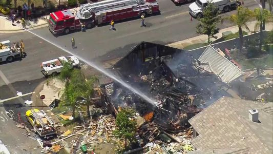 Explosion destroys home in Southern California, kills worker