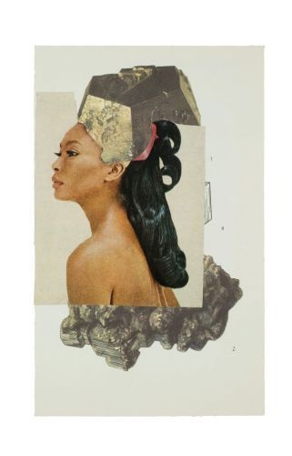 """The Artist Turning Black Hair into """"Galaxies, Solar Systems, Moonscapes"""""""