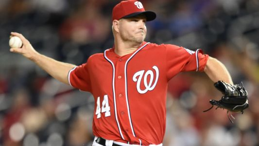 Jim Riggleman on Nationals' Ryan Madson: 'It infuriates me he'll never have to go to the plate and be thrown at'