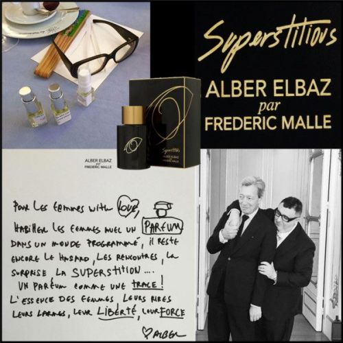 Superstitious Alber Elbaz by Frédéric Malle