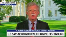 John Bolton Says North Korea Hasn't Done Much To Rid Itself Of Nuclear Weapons