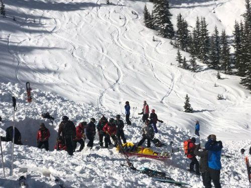 2 skiers seriously injured after being buried in Taos Ski Valley avalanche