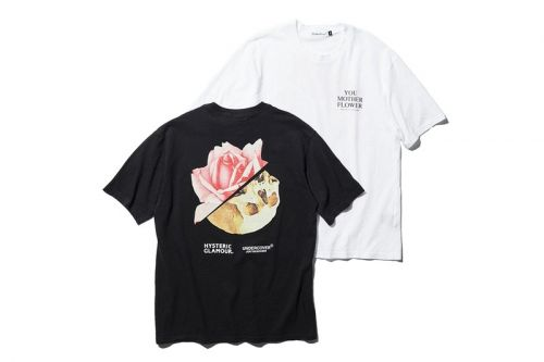 "UNDERCOVER and HYSTERIC GLAMOUR Reissue ""Mother Flower"" T-shirt for BLACK SENSE MARKET"