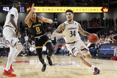 Cumberland scores 27 points, Cincinnati beats Wichita State 72-62