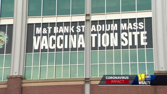 M&T Bank Stadium site to offer walk-up vaccination slots beginning Friday