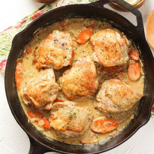 Chicken Cast-Iron Skillet