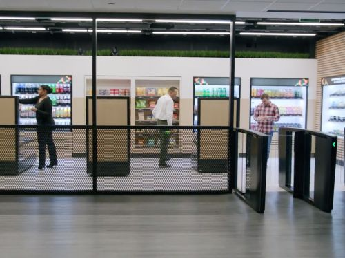 7-Eleven is testing cashierless stores to compete with Amazon Go - here's what the first one looks like inside