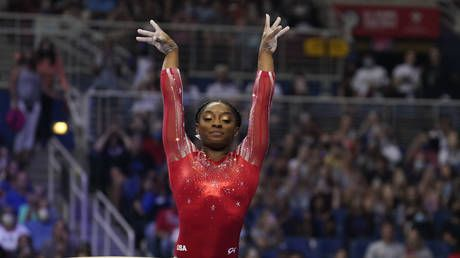 Biles reassures fans with pic from Olympic Village after US gymnast teammate tests positive for Covid at Tokyo Games
