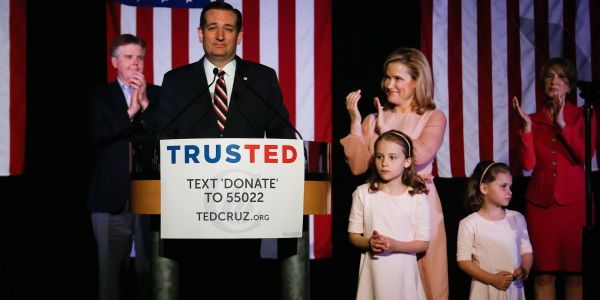 Heidi Cruz says her 7-year-old daughter told her leaving her job at Goldman Sachs during Ted Cruz's presidential campaign was a 'bad deal' because the first lady isn't paid