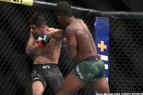 UFC 241 results: Sodiq Yusuff overcomes damage to finish Gabriel Benitez