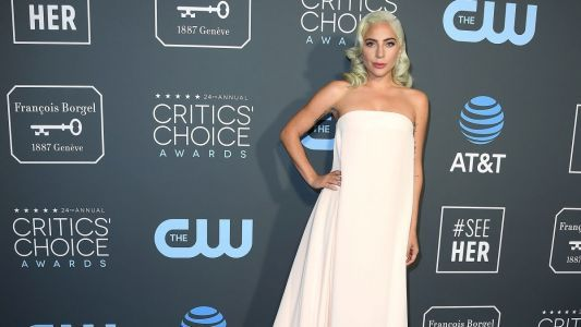 Great Outfits in Fashion History: Lady Gaga in Calvin Klein by Appointment at the 2019 Critics' Choice Awards