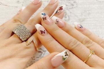 Butterfly Nail Art Is Making A Comeback This Summer-And It's Shockingly Chic