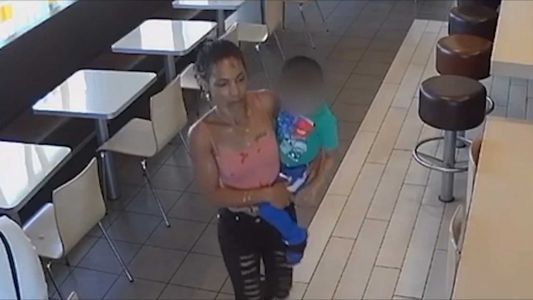 Caught on camera: Woman attempts to kidnap 4-year-old from California McDonald's