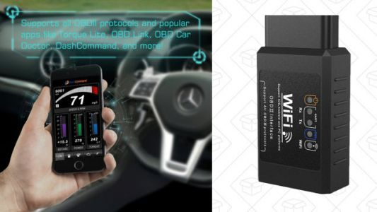 Speak Your Car's Language With This $13 Wi-Fi OBD2 Scanner