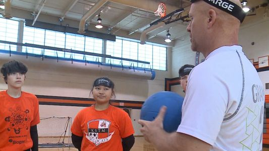 """""""Everybody has a challenge"""": Bringing goalball to Omaha"""