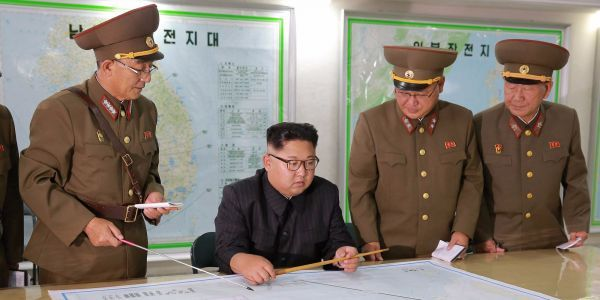 Former US intelligence chief says the US military has backed down North Korea before, and can do it again
