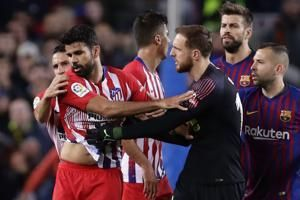 Costa banned 8 games for allegedly insulting referee
