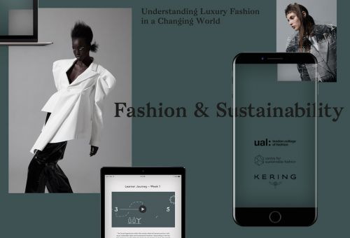 Kering And LCF Launch The World's First Digital Course In Sustainable Luxury Fashion